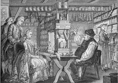 Les hommes et femmes célèbres de la pharmacie
