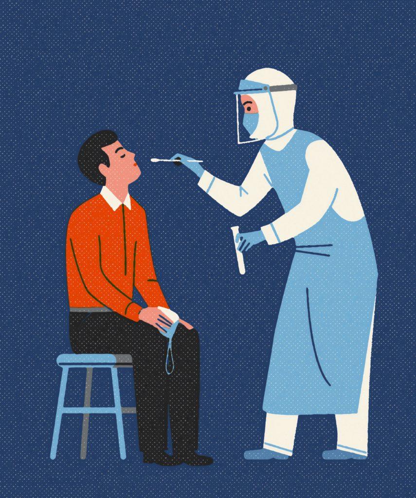 Test antigénique pharmacien